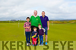 Tralee Golf Club president Eugene O'Callaghan with family  Darragh O'Callaghan, Ruairi O'Callaghan, Finán O'Callaghan and Eóin O'Callaghan at the Tralee Golf Club Presidents Prize on Sunday