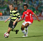 Aiden McGeady and Samuel Yeboah