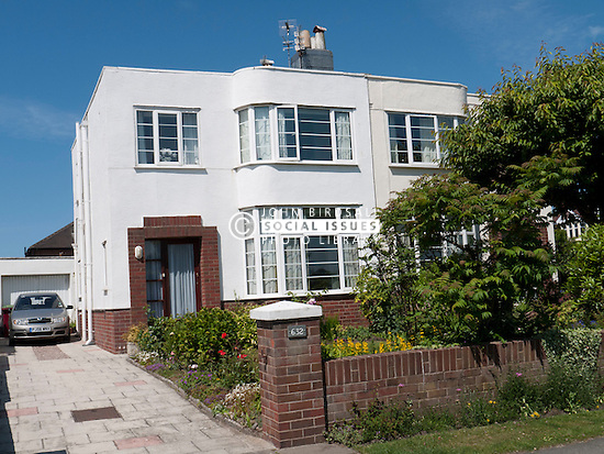 1930's semi-detached house in Blackpool