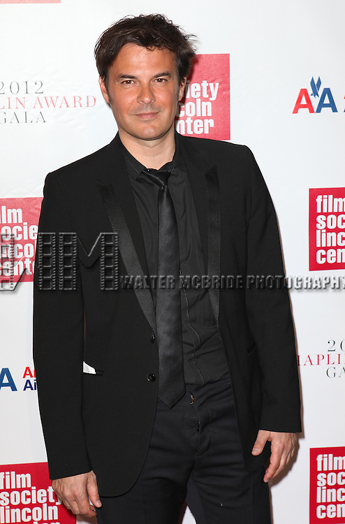 Francois Ozon.attending the Film Society of Lincoln Center's 39th Annual Chaplin Award Gala honoring Catherine Deneuve at the Alice Tully Hall in New York City. 4/2/2012