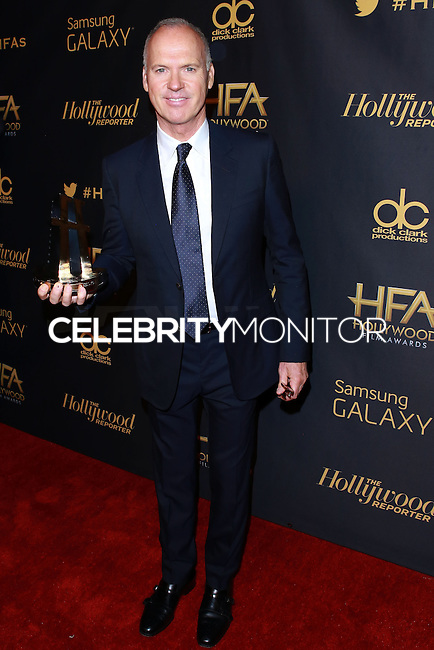 HOLLYWOOD, LOS ANGELES, CA, USA - NOVEMBER 14: Michael Keaton arrives at The Hollywood Reporter's 18th Annual Hollywood Film Awards After Party held at the W Hollywood on November 14, 2014 in Hollywood, Los Angeles, California, United States. (Photo by David Acosta/Celebrity Monitor)