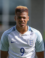 Lukas Nmecha (Manchester City) of England U19 during the International match between England U19 and Netherlands U19 at New Bucks Head, Telford, England on 1 September 2016. Photo by Andy Rowland.