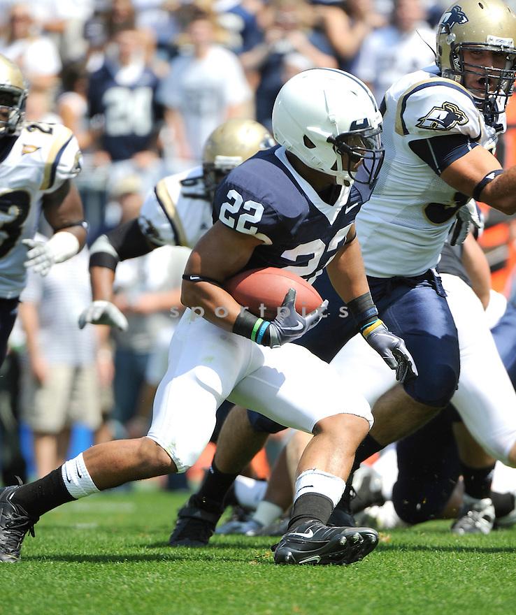 Evan Royster of Penn State RB. Mandatory Credit: Tomasso DeRosa