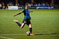 Kansas City, MO - Saturday June 17, 2017: Yael Averbuch during a regular season National Women's Soccer League (NWSL) match between FC Kansas City and the Seattle Reign FC at Children's Mercy Victory Field.