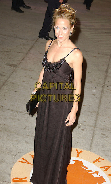 SHERYL CROW.The 2007 Vanity Fair Oscar Party Hosted by Graydon Carter held at Morton's, West Hollywood, California, USA, 25 February 2007..oscars half length black dress full 3/4.CAP/ADM/GB.©Gary Boas/AdMedia/Capital Pictures.