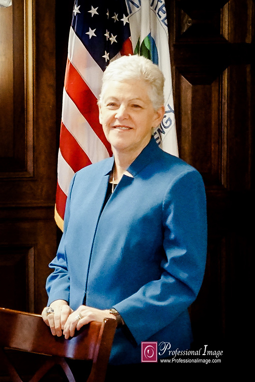 Portrait of Secretary of EPA Gina McCarthy @ Secretaries Office Dept of Environmental Protection<br />