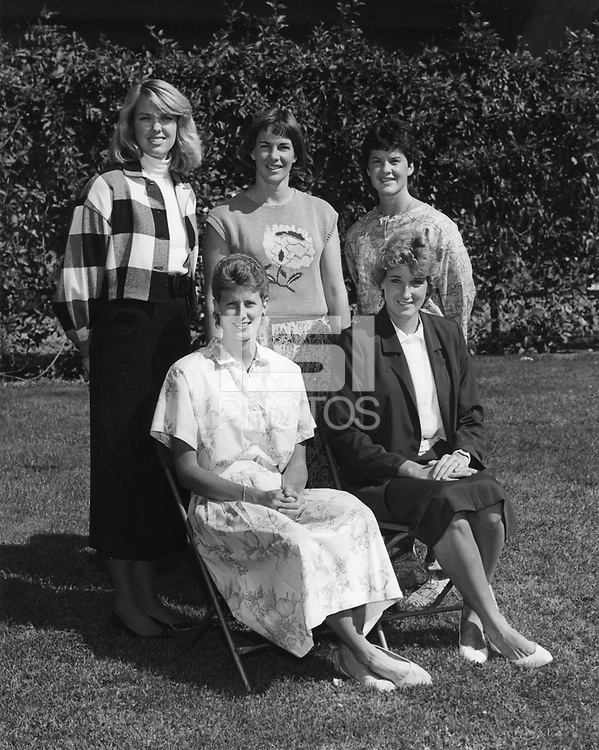1986: Women's Basketball Coaching Staff: <br />