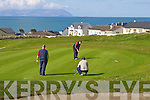Competing in The Spring League at Ballyheigue Golf Club on Sunday morning were l/r Gunter Siech, Tralee, James McGrath, Banna and Paddy Walsh, Abbeydorney..