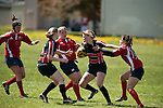 Jesters v Pigs, womens rugby in Portland Oregon.  The cross town rivalry.
