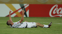 The United States' Brian Ownby (15) celebrates the forth goal against  Cameroon during the FIFA Under 20 World Cup Group C Match between the United States and Cameroon at the Mubarak Stadium on September 29, 2009 in Suez, Egypt.