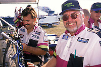 Wyatt Nelson Racing:  Wyatt Nelson (L) and crew chief Bill Hesson. Altamonte Springs,FL 1998 (SST-120)