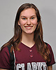 Brooke Scherer of Clarke poses for a portrait during the Newsday varsity softball season preview photo shoot at company headquarters on Friday, Mar. 18, 2016.