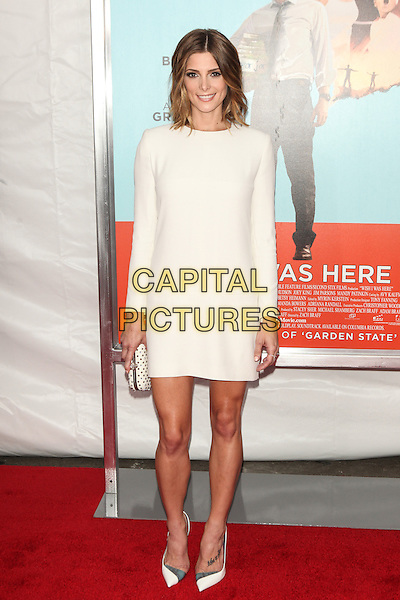 NEW YORK, NY - JULY 14: Ashley Greene attends the 'Wish I Was Here' screening at AMC Lincoln Square Theater on July 14, 2014 in New York City.  <br /> CAP/MPI/COR<br /> &copy;COR/MPI/Capital Pictures