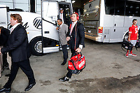 Ohio State Buckeyes defensive lineman Joey Bosa (97) arrives at M&T Bank Stadium for their game against Navy in Baltimore, Maryland on August 30, 2014. (Dispatch photo by Kyle Robertson)
