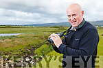 Ed Carty from Tralee birding on Cockleshell Beach on Tuesday.