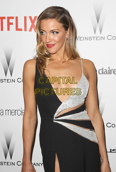 11 January 2015 - Beverly Hills, California - Katie Cassidy. The Weinstein Company and Netflix 2015 Golden Globes After Party celebrating the 72nd Annual Golden Globe Awards held at Robinsons May Lot.  <br /> CAP/ADM/KB<br /> &copy;KB/ADM/Capital Pictures
