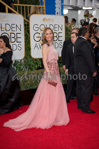 Leslie Mann attends the 73rd Annual Golden Globes Awards at the Beverly Hilton in Beverly Hills, CA on Sunday, January 10, 2016. Photo Credit: HFPA/AdMedia