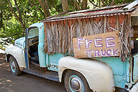 Old pick up truck for sale. Maui, Hawaii