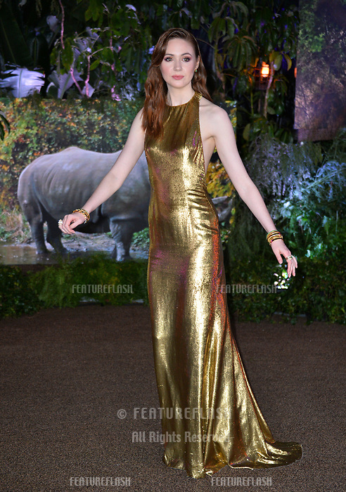 Karen Gillan at the Los Angeles premiere of &quot;Jumanji: Welcome To the Jungle&quot; at the TCL Chinese Theatre, Hollywood, USA 11 Dec. 2017<br /> Picture: Paul Smith/Featureflash/SilverHub 0208 004 5359 sales@silverhubmedia.com
