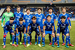 Ulsan Hyundai squad pose for team photo during their AFC Champions League 2017 Playoff Stage match between Ulsan Hyundai FC (KOR) vs Kitchee SC (HKG) at the Ulsan Munsu Football Stadium on 07 February 2017 in Ulsan, South Korea. Photo by Chung Yan Man / Power Sport Images