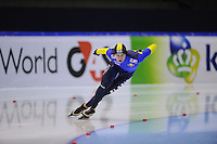 SCHAATSEN: HEERENVEEN: Thialf, World Cup, 03-12-11, 500m B, Roman Krech KAZ, ©foto: Martin de Jong