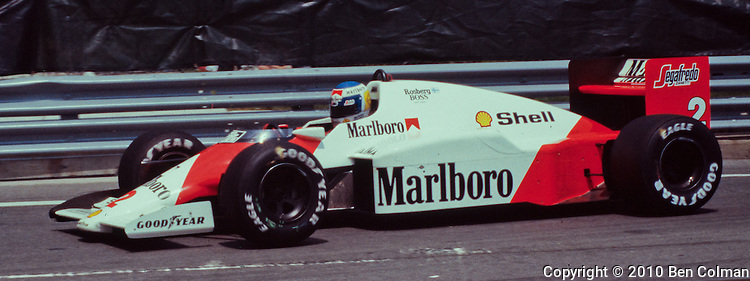 Keke Rosberg, McLaren MP4-2C, Detroit 1986