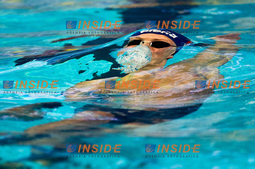 Lavrans Solli  NOR.Men 50m Backstroke  semifinal.FINA World Short Course Swimming Championships.Istanbul Turkey 12 - 16 Dec. 2012.Day 03.Photo G.Scala/Deepbluemedia/Inside