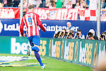 Atletico de Madrid's player Fernando Torres celebrating a goal during a match of La Liga Santander at Vicente Calderon Stadium in Madrid. September 17, Spain. 2016. (ALTERPHOTOS/BorjaB.Hojas)