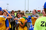 FRISCO, TX - JULY 29: US Youth Soccer Cleveland FC 03 vs Beach FC DPL on July 29, 2018 in Frisco, Texas. (Photo by Rick Yeatts Photography /Matt Pearce)