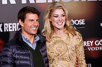 Actor Tom Cruise and actress Rosamund Pike attends the 'Jack Reacher' premiere at the Callao cinema in Madrid, Spain. December 13, 2012. (ALTERPHOTOS/Caro Marin) /NortePhoto