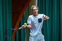Wateringen, The Netherlands, December 4,  2019, De Rhijenhof , NOJK 14 and18 years, Liam Liles (NED)<br /> Photo: www.tennisimages.com/Henk Koster