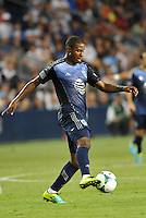Sporting Park, Kansas City, Kansas, July 31 2013:<br /> Patrice Bernier (10) midfield  MLS All-Stars in action.<br /> MLS All-Stars were defeated 3-1 by AS Roma at Sporting Park, Kansas City, KS in the 2013 AT & T All-Star game.