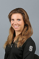 STANFORD, CA-October 16, 2014- Jenna Frowein of the Stanford Womens Gymnastics Team