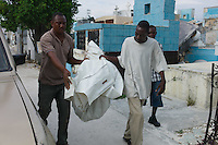 Port Au Prince, Haiti, April 11, 2010.The main city cemetery has been damaged by the earthquake, many tombs lay open. It is home to many, and a place where magic often becomes real....