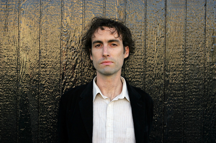 Andrew Bird recording artist in Seattle before performing at Chop Suey. (Photo by Kevin P. Casey/For the Chicago Tribune)