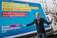 2016/11/21 Berlin | FDP | Volksbegehren für Flughafen Tegel