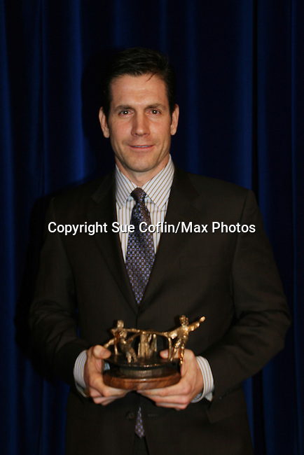 Executive producer of OLTL Frank Valentini receives the Linda Dano Heart Award at the HeartShare Human Services 2009 Spring Gala and Auction on March 24, 2009 at the New York Marriott Marquis, New York City, NY. (Photos by Sue Coflin/Max Photos)