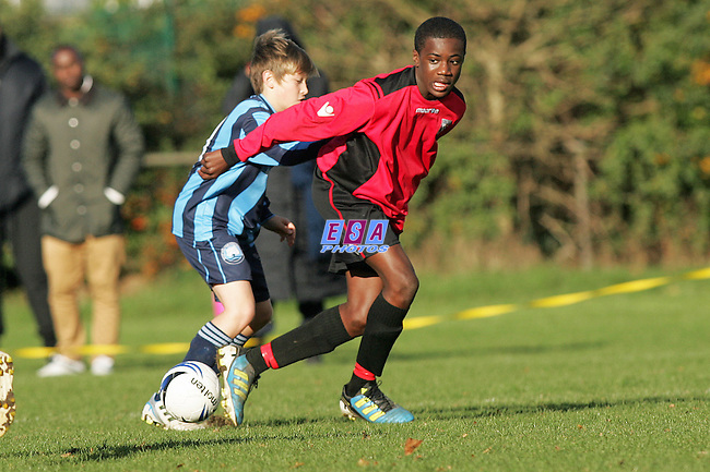 WEST WHICKHAM v GLEBE<br /> KENT YOUTH LEAGUE U14 NORTH SUNDAY 27TH NOV 2011 WEST WHICKHAM CRICKET GROUND