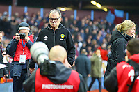 Leeds United manager Marcelo Bielsa walks to the dugout area<br /> <br /> Photographer Alex Dodd/CameraSport<br /> <br /> The EFL Sky Bet Championship - Aston Villa v Leeds United - Sunday 23rd December 2018 - Villa Park - Birmingham<br /> <br /> World Copyright &copy; 2018 CameraSport. All rights reserved. 43 Linden Ave. Countesthorpe. Leicester. England. LE8 5PG - Tel: +44 (0) 116 277 4147 - admin@camerasport.com - www.camerasport.com