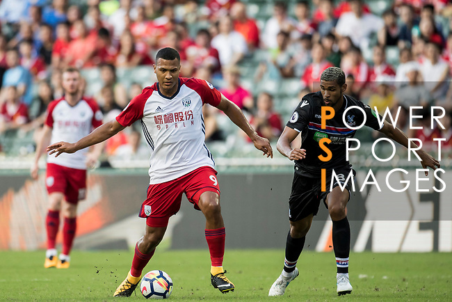 West Bromwich Albion forward Salomon Rondon in action during the Premier League Asia Trophy match between West Bromwich Albion and Crystal Palace at Hong Kong Stadium on 22 July 2017, in Hong Kong, China. Photo by Weixiang Lim / Power Sport Images