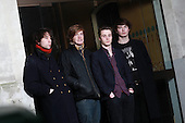 PALMA VIOLETS - L-R: Pete Mayhew, Will Doyle, Sam Fryer, Chilli Jesson - Photosession in Paris France - 15 Jan 2013.  Photo credit: Manon Violence/Dalle/IconicPix