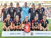 USWNT vs Japan, June 2, 2016