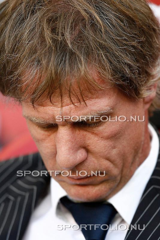 Nederland, Asterdam, 5 mei 2008.Seizoen 2007-2008.Eredivisie Play-offs.Ajax -Heerenveen (3-1).Gertjan Verbeek trainer-coach van Heerenveen,