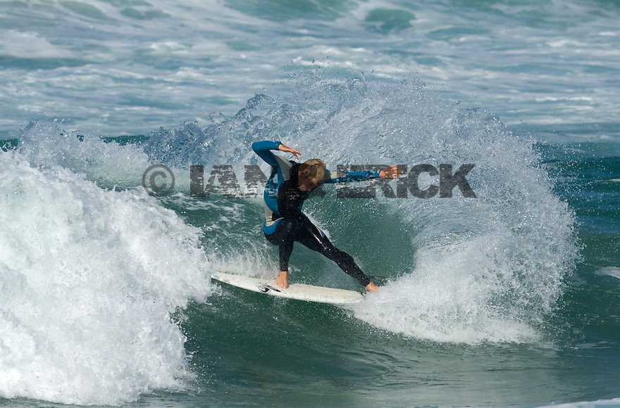 Australian Adrian Buchan in Hossegor in the south of France.