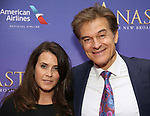 Lisa Oz and Mehmet Oz attend Broadway Opening Night performance of 'Anastasia' at the Broadhurst Theatre on April 24, 2017 in New York City.