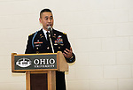 7th ROTC Brigade Commander, Colonel Lance Oskey, speaks about the MacArthur Award.