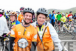 Daniel and Sheila Moriarty  Cyclists at the Ring of Kerry Charity Cycle on Saturday.