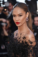 CANNES, FRANCE - MAY 12: Joan Smalls at 'Girls Of The Sun (Les Filles Du Soleil)' screening during the 71st annual Cannes Film Festival at Palais des Festivals on May 12, 2018 in Cannes, France.<br /> CAP/PL<br /> &copy;Phil Loftus/Capital Pictures