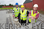 Putting the final touches to the new park in Abbeydorney are Denis Looney, Sonny Egan and Barry Sheehan.