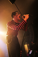 LONDON, ENGLAND - SEPTEMBER 13: Yungblud (Dominic Harrison) performing at The Garage on September 13, 2018 in London, England.<br /> CAP/MAR<br /> &copy;MAR/Capital Pictures